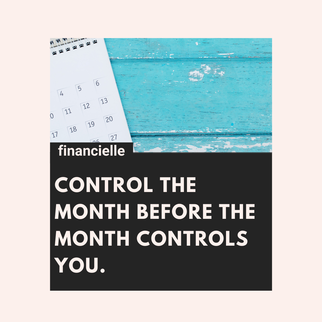 control the month