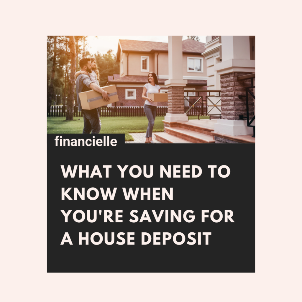 saving for a house deposit