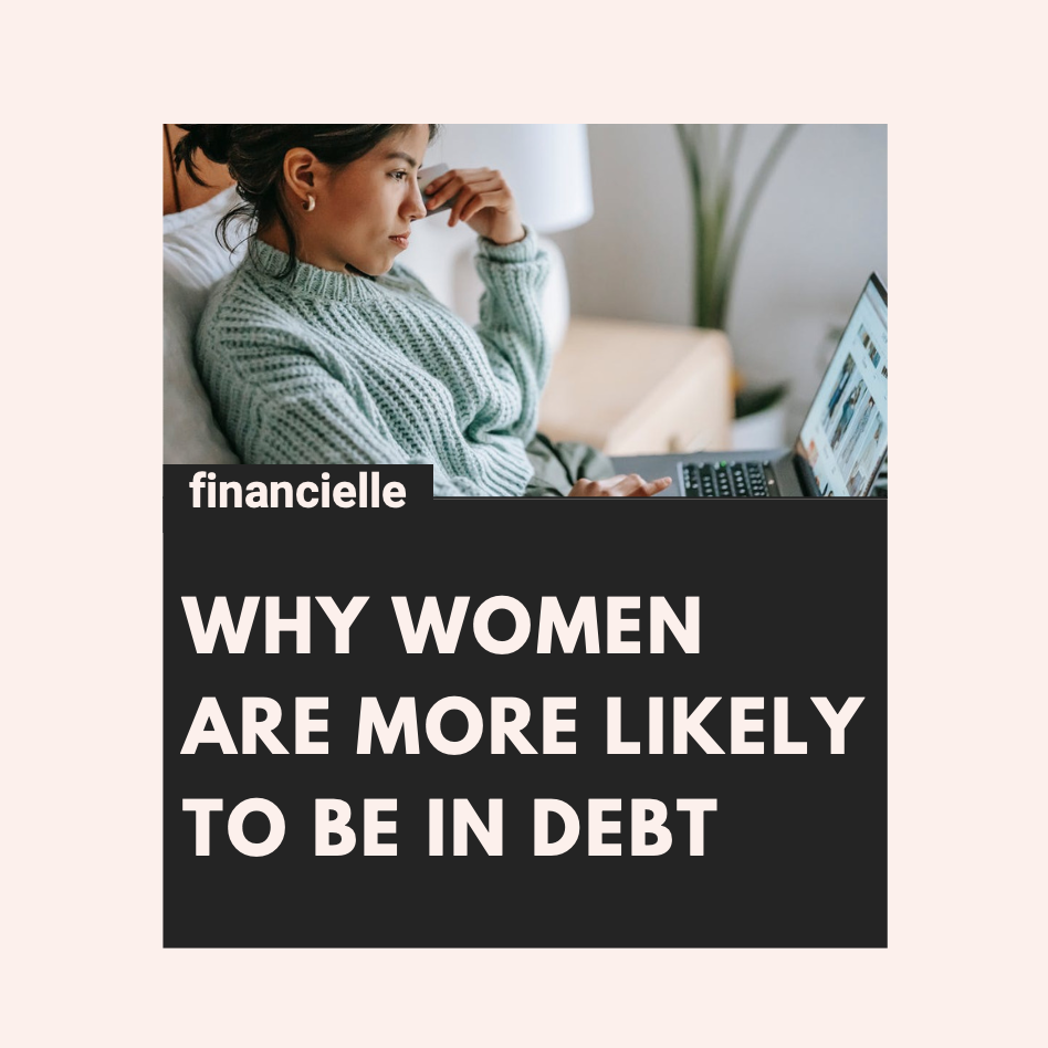 Why women are more likely to be in debt